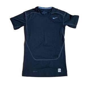 Men's Nike Dri Fit Training Compression Black Base Layer Pro Combat Shirt Sz L
