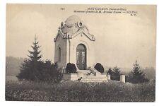 montlignon  ,monument funèbre de m. armand hayem