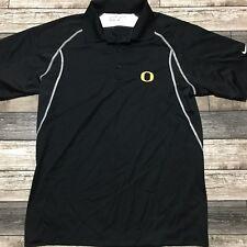 New listing Nike Golf Dri Fit Oregon Ducks Polo Shirt Men's Size S Black