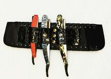 Scissor & Shear Holsters Wrist Band Adjustable Hair Cutting Barber Hairstylist