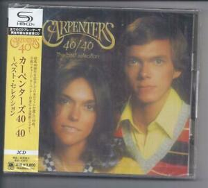 CARPENTERS 40/40 The best selection 2 cd set JAPAN SHM CD UICY-1441/2 sealed NEW