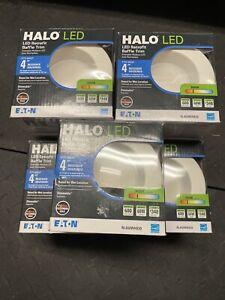 Halo 4 in. White LED Recessed Ceiling Light Retrofit Baffle Trim RL460WH930