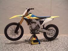 1:12 2018 SUZUKI RMZ450 RMZ 450 Motocross Moto X qualità fantastica Giocattolo Modellino