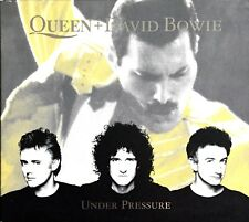 CD DIGIPACK QUEEN + DAVID BOWIE UNDER PRESSURE (3 TITRES + 1 VIDEO) RARE 1999
