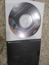 Dynaudio & Bower and Wilkins (B&W) Promotional DVD ads vintage audio speakers