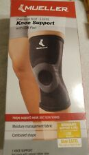 MUELLER  KNEE SUPPORT PREMIUM KNIT / GEL PAD MODERATE SUPPORT L/XL LEFT or Righ