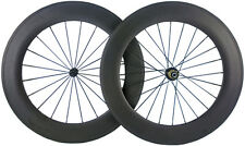 88mm Clincher Carbon Wheelset 700C Road Bicycle Wheels Powerway R13 Bike Wheels