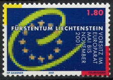 LIECHTENSTEIN 2001 SG#1247 Conseil de l'Europe neuf sans charnière #D2037