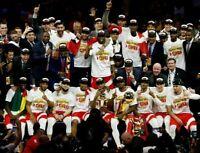 Toronto Raptors 2019 NBA Championship Team Unsigned 8X10 Photo
