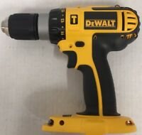 DeWALT DC725 DC725B 18 Volt 18V Cordless Hammer Drill Driver w/ LED Light