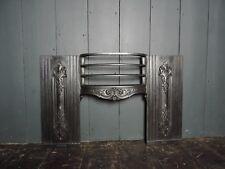 Original Reclaimed Cast Iron Victorian Carron Hob Fireplace Front (HB261)