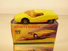 MATCHBOX 33 DATSUN 126X - YELLOW - EXCELLENT IN BOX