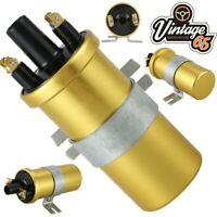 Rover Mini Classic Lucas Style Gold High Performance Sports Ignition Coil