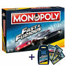 Monopoly Fast and Furious Bundle Game Party Game Board Game + Quartet