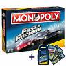 Monopoly Fast and Furious Bundle Spiel Gesellschaftsspiel Brettspiel + Quartett