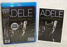 Adele Live At The Royal Albert Hall Taiwan Ltd CD +Blu-Ray(BD) +4 Postcards