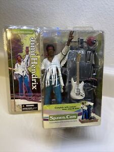 Jimi Hendrix Rock Figure Woodstock August 18 1969 McFarlane Spawn 2004*New