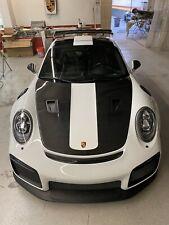 Porsche 991.2 GT2RS style Carbon Fiber hood fits: 2012 - 2019 Turbo & Carrera