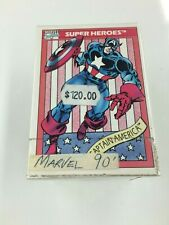 1990 Impel Marvel Comics Trading Card Set (162)- RARE
