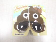 Poop Emoji Shades Costume Sunglasses by Sun-Staches