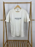 VTG 90s Guess USA Workwear Spellout Classic Short Sleeve T-Shirt Size XL