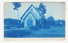 Cotuit,MA.CYANO-TYPE,1st Church of Christ,Cape Cod,Barnstable Co,Used,Cotuit,'08