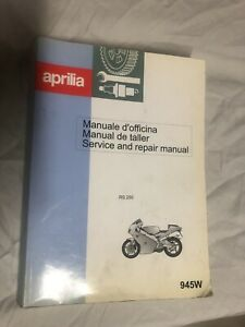 Aprilia Vehicle Repair Manuals Literature For Sale Ebay