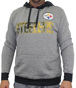 "Pittsburgh Steelers Majestic NFL ""Gameday"" Men's Pullover Hooded Sweatshirt"