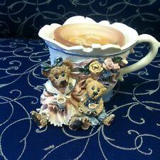 """Boyds Bears & Friends~Vtg 1997 """"Ms.Bruin & Bailey Tea Time"""""""