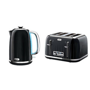 Breville Impressions Kettle and Toaster Set Black Kitchen Sale Cheap Buy Deal
