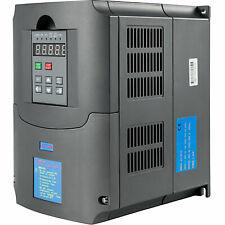 Variateur de Fréquence Ac220v Triphasé Vfd Contrôle SPWM moteur 7.5kw 0-400hz