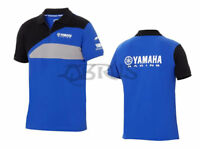 Genuine Yamaha 18 Paddock Blue Men's Race 'Nara' Polo Shirt ATV QUAD MOTORCYCLES