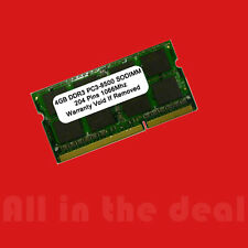 4GB SODIMM DDR3 Laptop PC3 8500 1066MHz 1066 204 pins Ram Memory