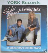 "SHAKIN STEVENS & BONNIE TYLER - A Rockin Good Way Ex 7"""
