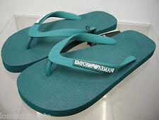 Infradito ciabatta uomo slippers EMPORIO ARMANI 211301 3P484 T.40 c.06834 pavone