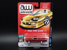 2017 AUTO WORLD DELUXE SERIES R1 VER B ULTRA RED CHASE 1967 CHEVY EL CAMINO