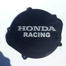 Billet Honda cr 125 clutch Cover Case satin black 6082 alloy 87-99 super evo