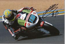 Xavier Simeon Hand Signed Federal Oil Gresini Suter 12x8 Photo 2014 Moto2 9.