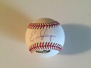 Evan Longoria Autographed Signed OML Baseball - UpperDeck & MLB