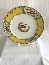 Andrea by Sadek Preservation Society Newport County Chelsea Bird Plate 10 1/2""