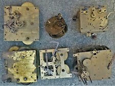 LOT de 6 mecanismes pendules pour pièces