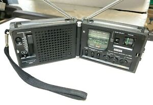 Rare Vintage SW AM FM Radio SONY ICF-7800 - Working condition *NEWSCASTER*