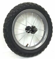 "Complete 12"" Front Gray Bicycle Wheel with 1.95"" Tire - Youth Bike #M71"