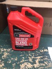 Genuine Ford Fluid XO-5W20-5QSP SAE 5W-20 Premium Synthetic Blend Motor Oil -...