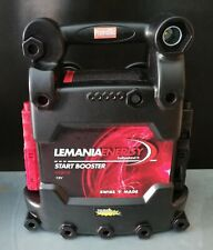 LEMANIA ENERGY P62500 Portable battery for supporting gasoline engines 850A