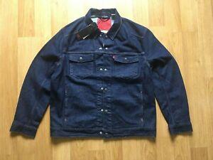 Levi's LEJ Rinse Denim Jacket 67778-0001 Vintage Style Brand New with Tags