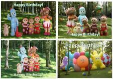 Personalised pictures bunting / Birthday Party Decoration / In The Night Garden