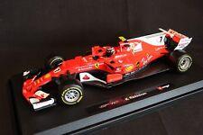 Bburago Ferrari SF70H 2017 1:18 #7 Kimi Raikkonen (FIN)