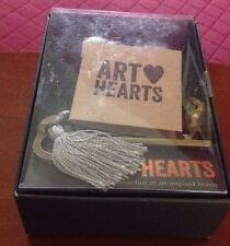 Demdaco Studio Art Hearts   Michael Mullan     Love is Real Black Heart