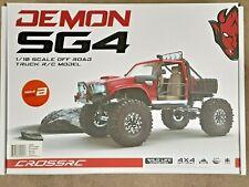 Cross RC Demon SG4B 1/10 4x4 Crawler Kit w/Hard Body & Aluminum Wheels CZRSG4B
